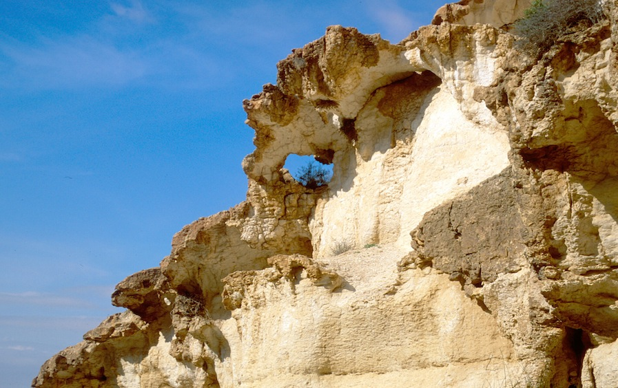 Negev cliffs