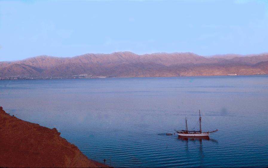 Red Sea at dusk